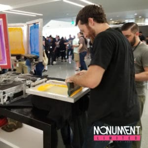 Live printing with monument limited