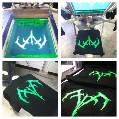 custom t shirt printing methods