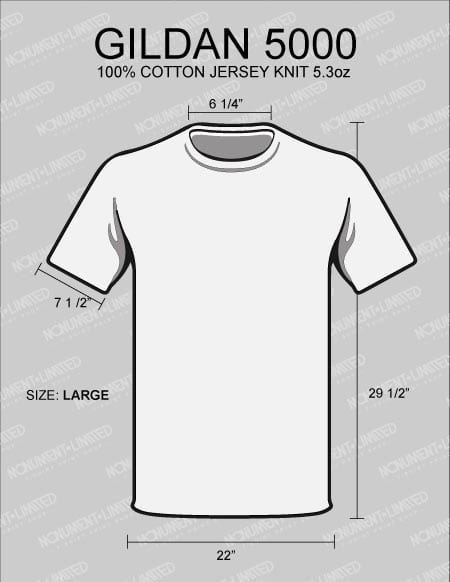 what is the best t shirt for printing-5000-dimensions