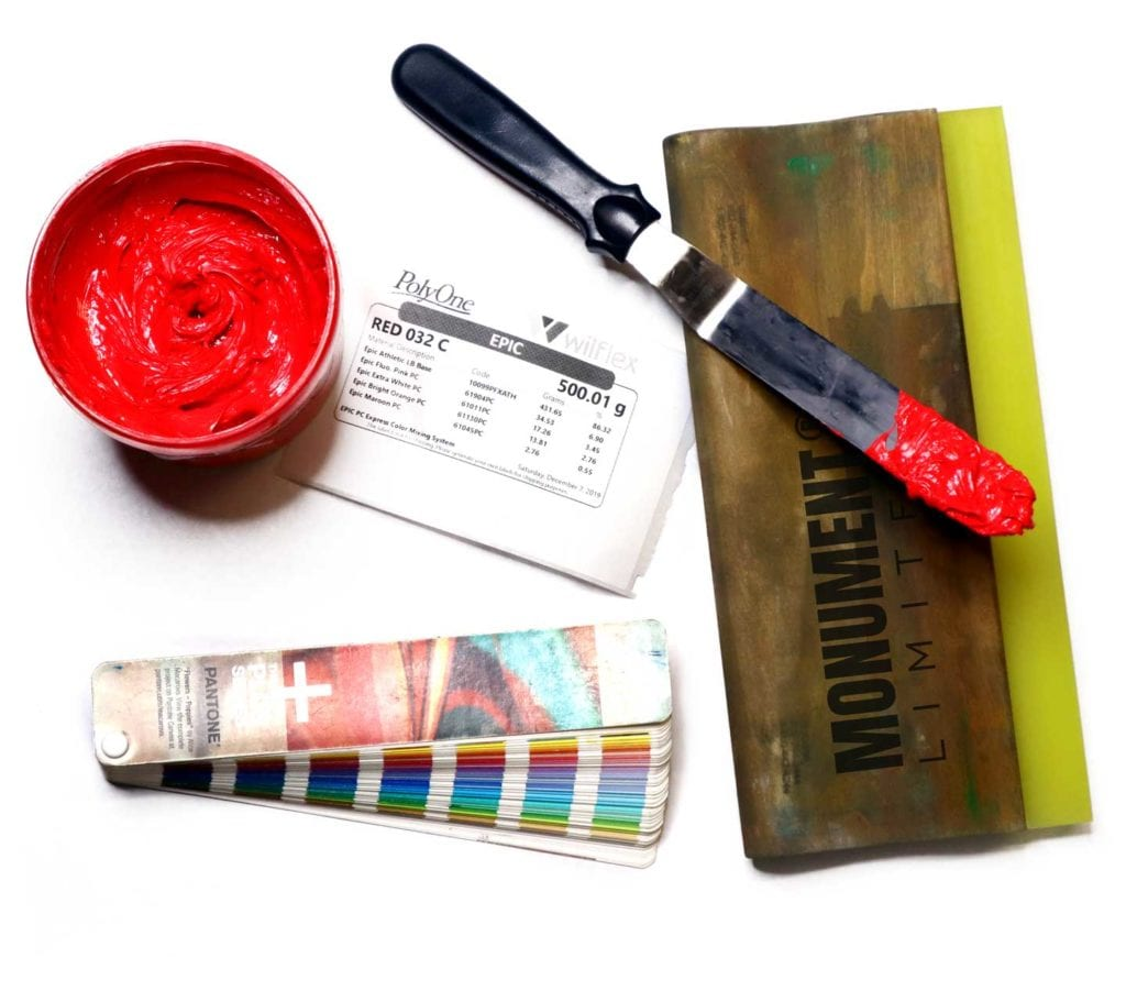 screen printing tools of the trade